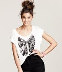 Lady′s Fashion Clothes / Fashion T-Shirt (FC0003)