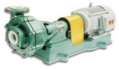 Mortar-pump