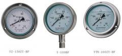 YB系列 不锈钢压力表
