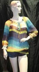 Chiffon Dress (QHXF12007)