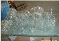 Glass laboratory utensil