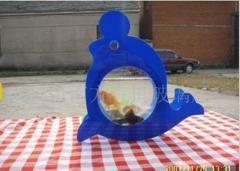 有机玻璃迷你鱼缸