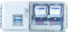 浙江安亚整体式塑料透明单相电表箱BD02