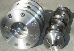 Steel flat flanges