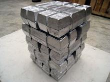 Lead-antimony alloy ingot