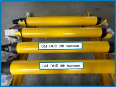 Percussion drills, perforators for mines and pits