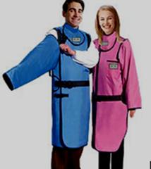 活袖双面连体防护衣