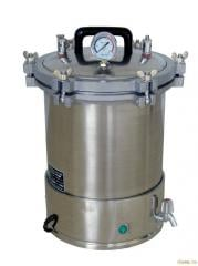 Steam disinfection chambers