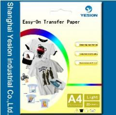 Light transfer paper