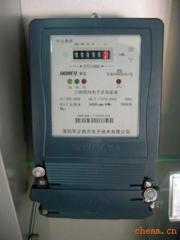 Power counter, single-phase, multirate