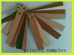 Wooden finishing materials