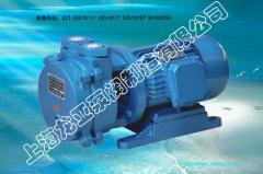 Water-circulating vacuum pumps