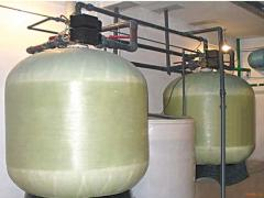 Installations of water softening
