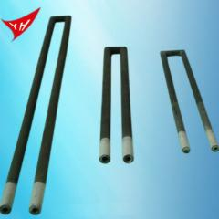 Heating element silicon carbide  U type  ISO 9001