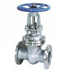 Valves made of stainless steel