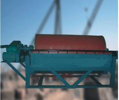 Drum separators for enrichment of magnetite ore