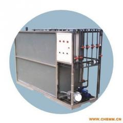 Equipment for sewage treatment, car washes