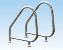 Handrails for swimming pools