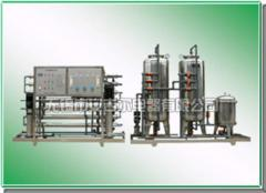 Water-desalinating plant