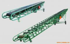 Movable conveyor belts