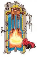 Vessel boilers