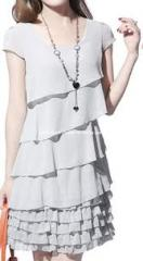 Women Fashion Evening Dress (CHNL-DR091)