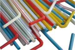 Compostable and biodegradable PLA straw