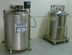 Self-pressurized Liquid Nitrogen Tank