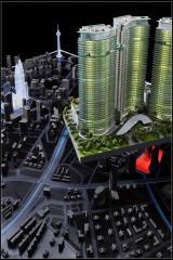 General plan of town development