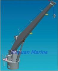 Cranes hoisting for deck and bilge ships