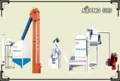 Equipment for the production of animal feed