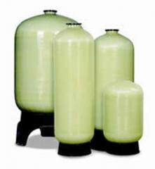 Containers made of fiberglass