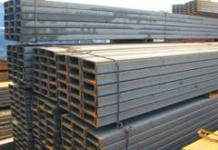 Steel square pipes