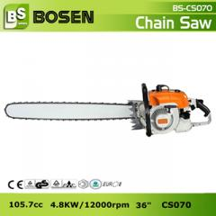 "105cc Big Gasoline Chain Saw with 36"""