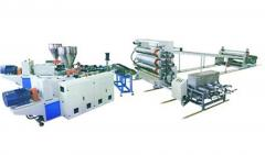 PE、PVC、PP、ABS塑料板/片材挤出生产线