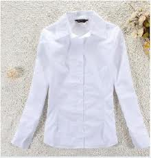 Ladies′ Blouse Solid Color