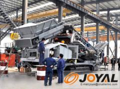 Joyal Crawler Mobile Crusher Screen