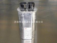 High-voltage pulse capacitors