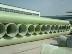 Glass-plastic pipes
