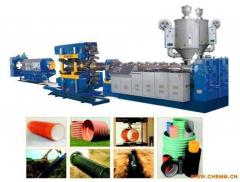 Lines for production of polypropylene pipes