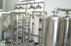 Installations for preparation of drinking water