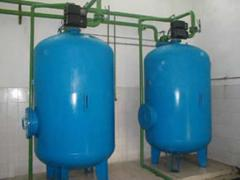 Installations of water softening