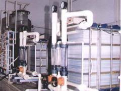 Electrodialysis desalination plants