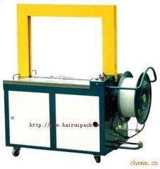 Equipment for binding pallets with steel tapes