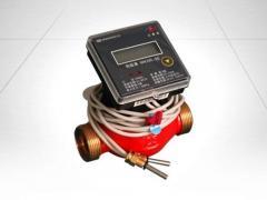 Heatcounter with mechanical flowmeter