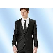 Men′s Slim-Fit Black Suit for Business&
