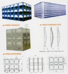 ZS型组合式不锈钢焊接水箱