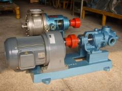 Pumps for swapping viscous liquids