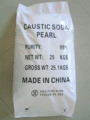 Sodium hydroxide caustic soda pearls 99%