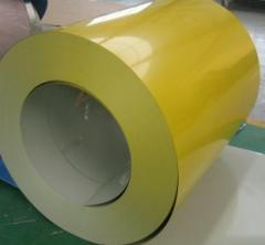 Prepainted coil